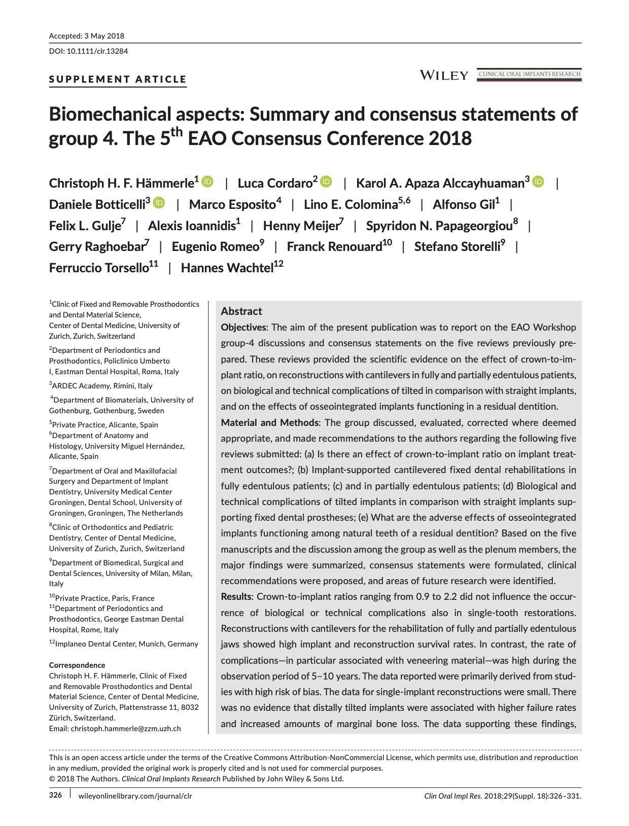 5th EAO Consensus Conference - Esteve-Colomina L